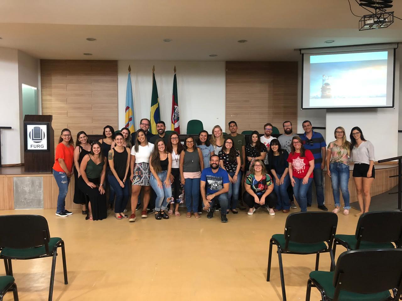 Coordenação recepciona novos alunos do Mestrado e Doutorado